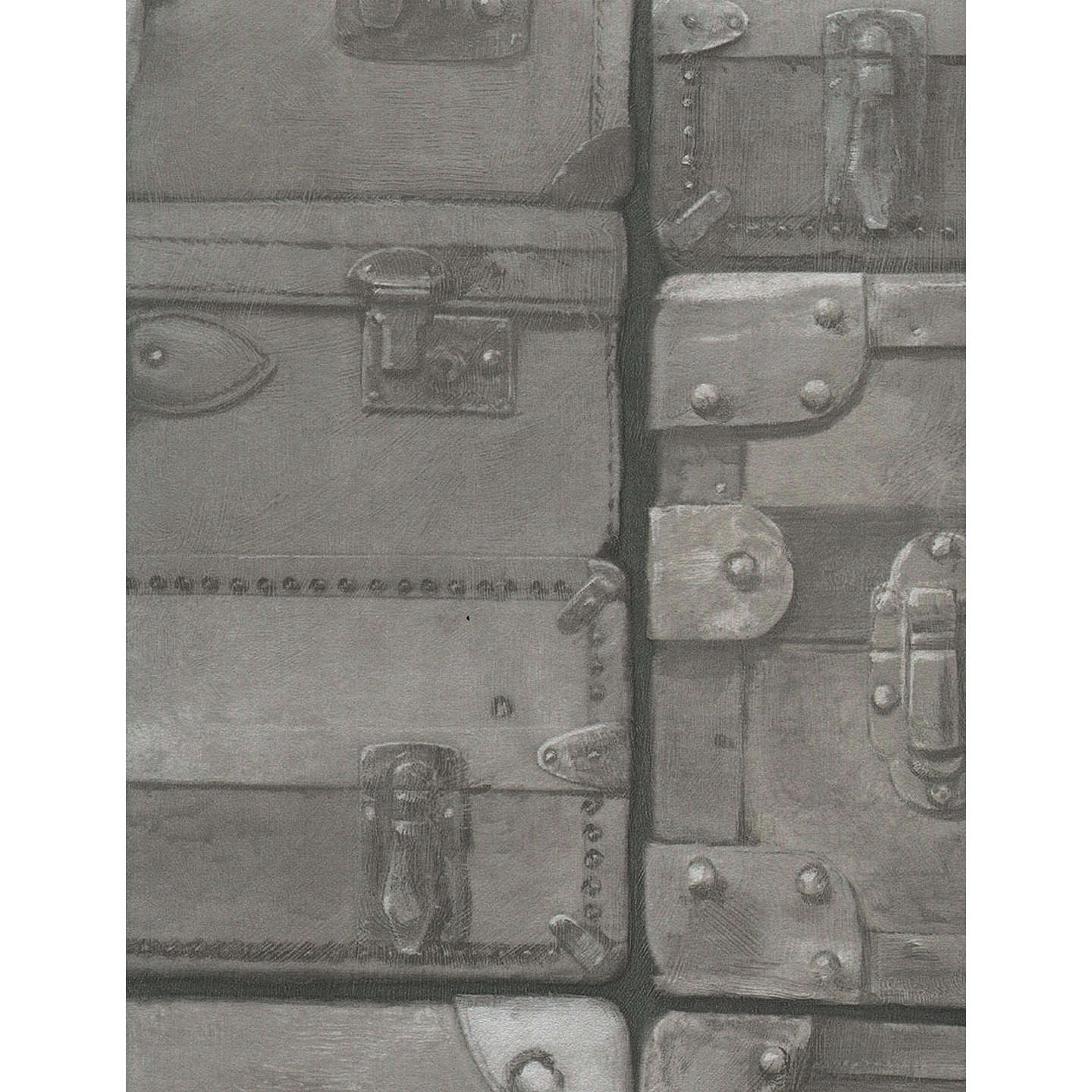 BuyAndrew Martin Luggage Wallpaper, Gunmetal, LU01 Online At Johnlewis.com  ...