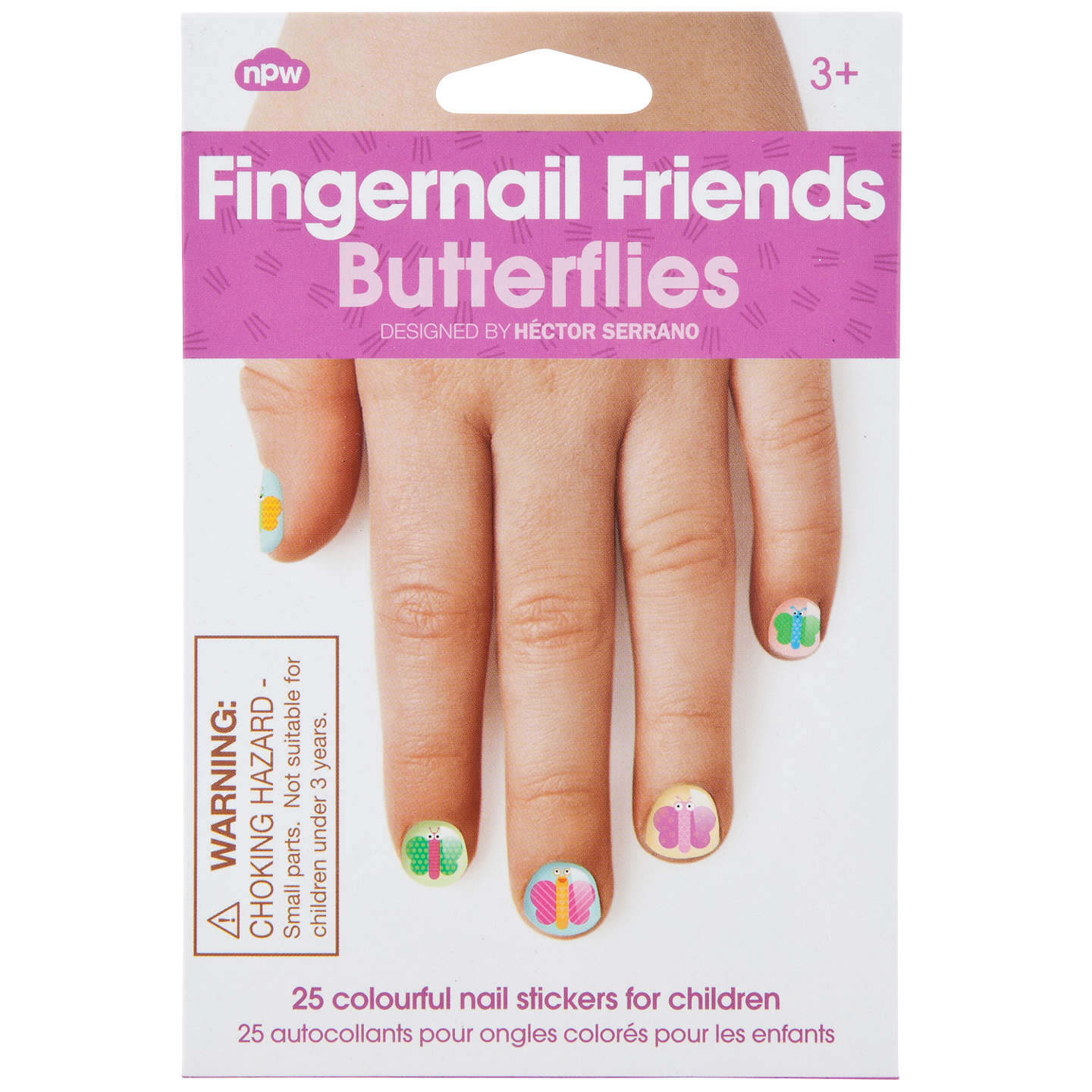 Fingernail Friends: Butterflies Nail Decals at John Lewis