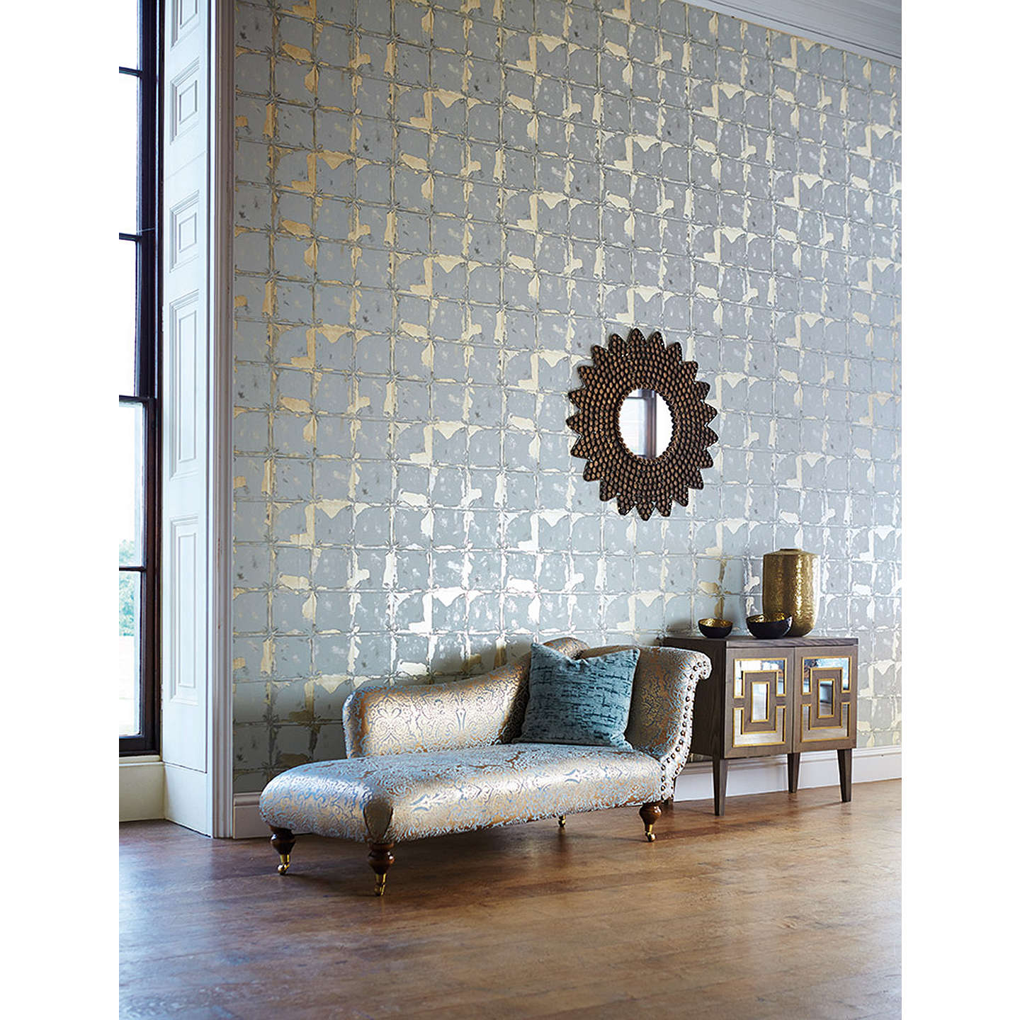 BuyHarlequin Akoa Paste The Wall Wallpaper Antique Gold 110636 Online At Johnlewis