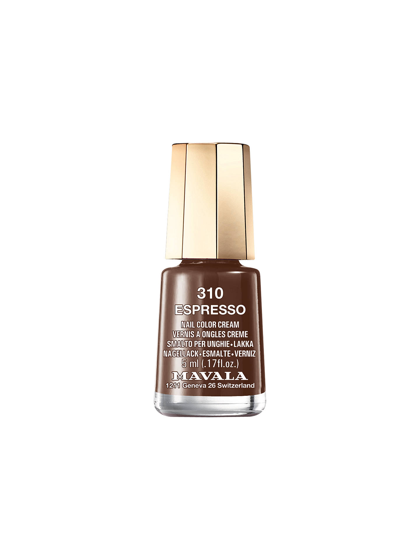 Buy MAVALA Mini Colour Nail Polish, Espresso 310 Online at johnlewis.com