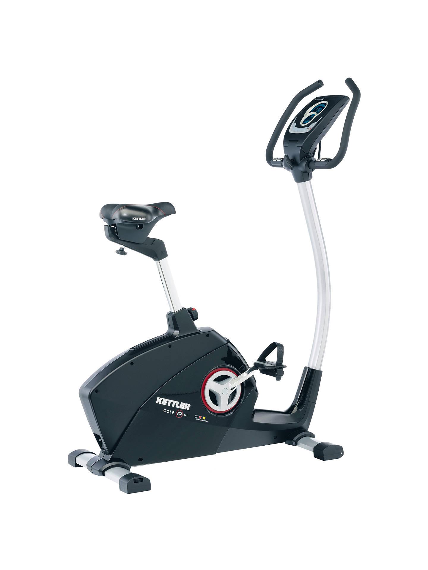 BuyKETTLER Golf Deluxe Upright Exercise Bike Online at johnlewis.com ...