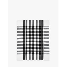 Buy John Lewis The Basics Tea Towels, Set of 2, Black Online at johnlewis.com
