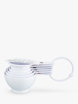 Buy John Lewis & Partners Plastic Measuring Cups, Set of 7 Online at johnlewis.com