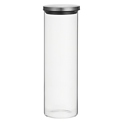 House by John Lewis Glass Storage Jar, Large