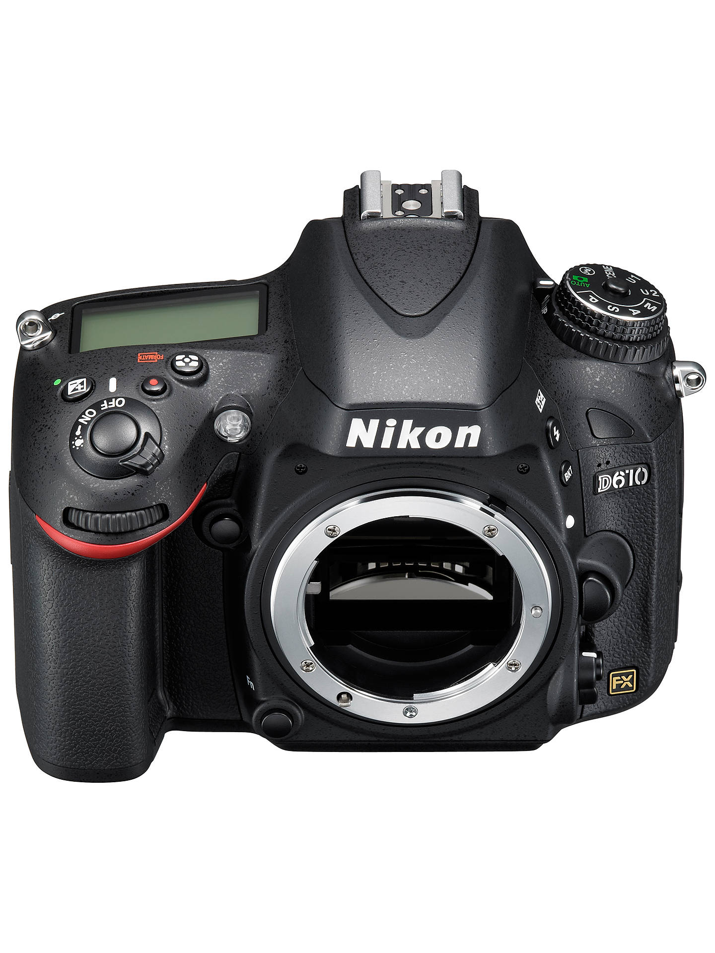 "Nikon D610 Digital SLR Camera, HD 1080p, 24 3MP, 3 2"" LCD"