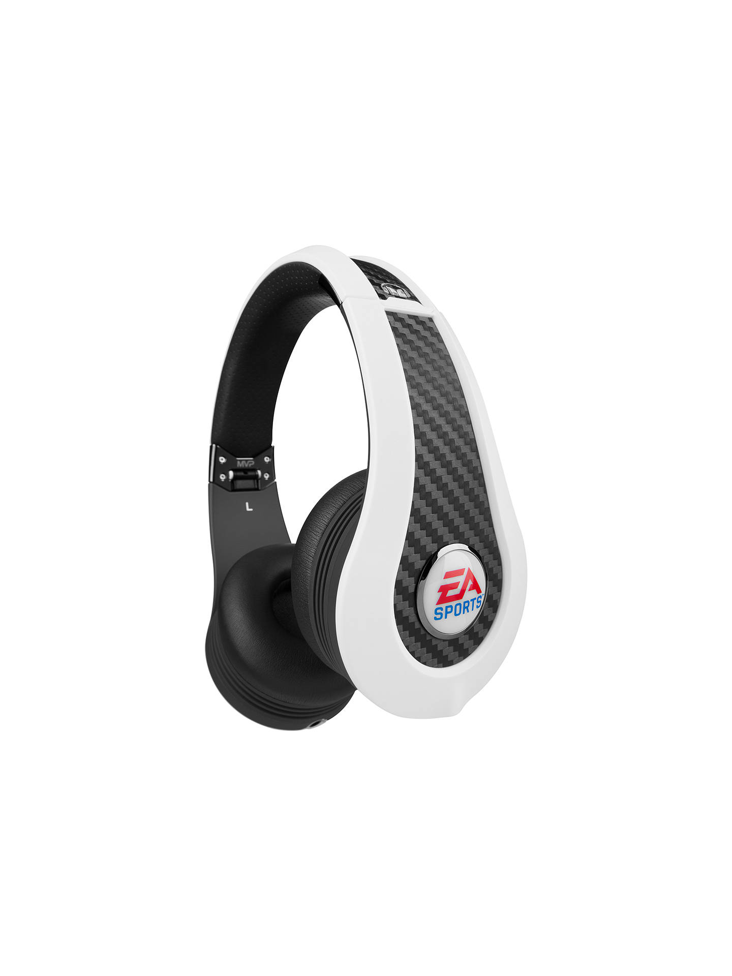 Monster EA Sports MVP Carbon Gaming Headset for Xbox 360, PS3, Wii and PC, White