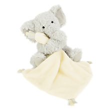 Buy Jellycat Elly Elephant Baby Soother Soft Toy Online at johnlewis.com