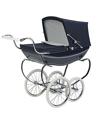 Silver Cross Oberon Navy Dolls' Pram