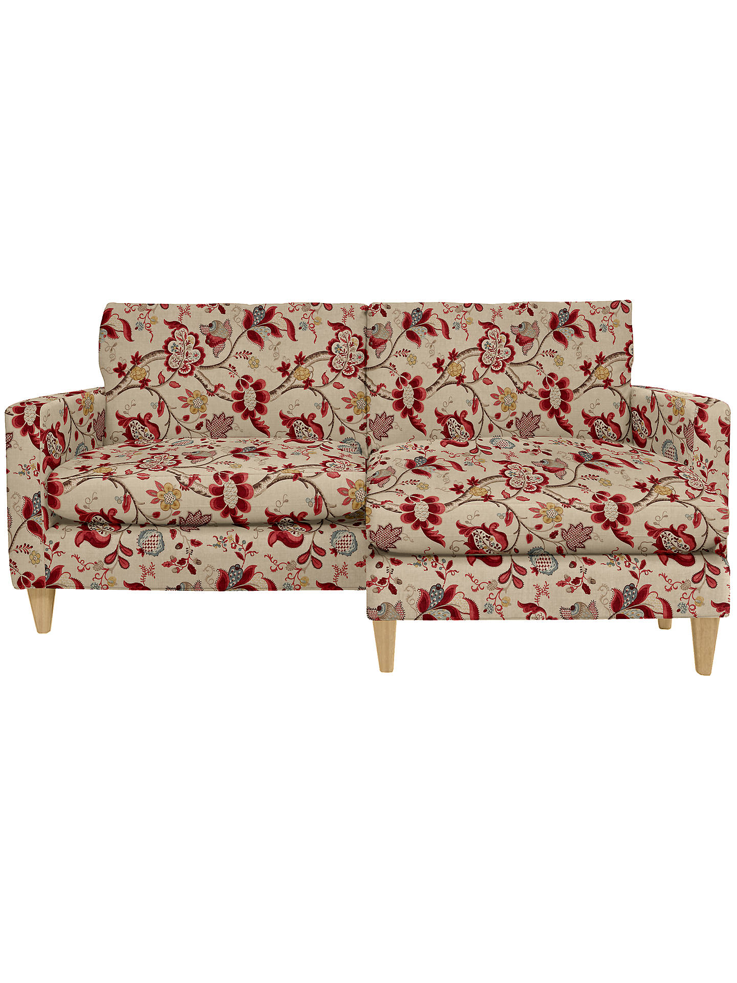 Awe Inspiring John Lewis Bailey Rhf Loose Cover Chaise End Sofa Price Alphanode Cool Chair Designs And Ideas Alphanodeonline