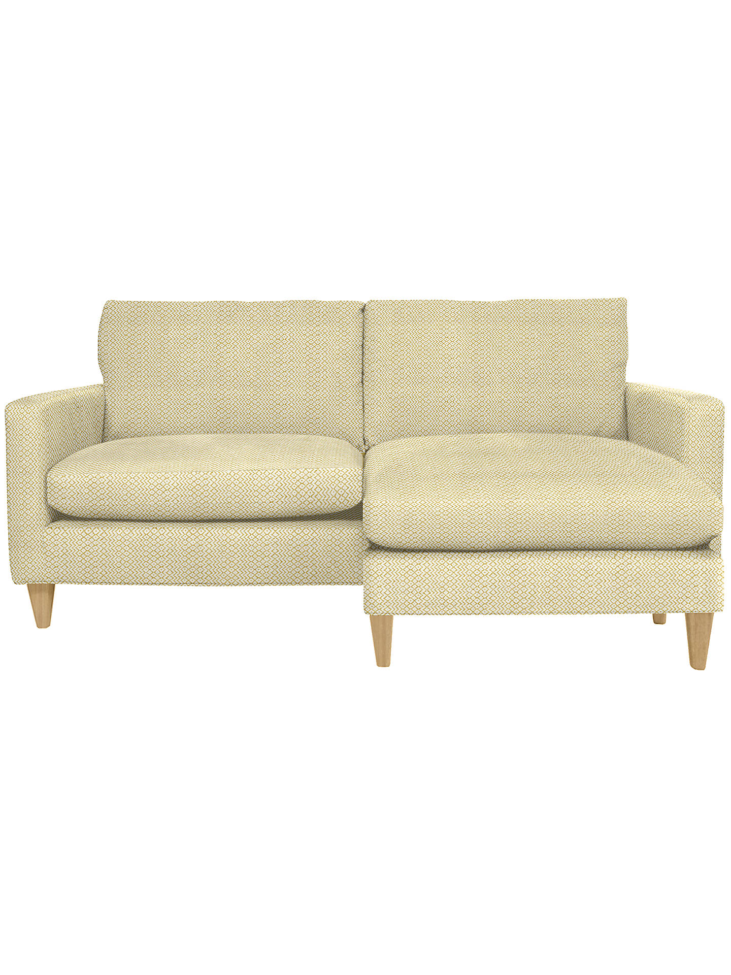 John Lewis Bailey Rhf Loose Cover Chaise End Sofa Price Band F At John Lewis Partners