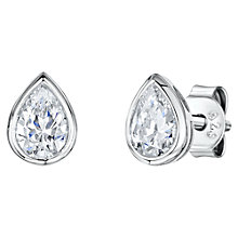 Buy Jools by Jenny Brown Cubic Zirconia Tear Drop Stud Earrings Online at johnlewis.com