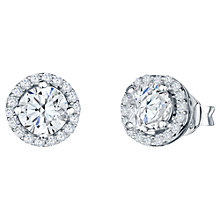 Buy Jools by Jenny Brown Round Pavé Surround Stud Earrings Online at johnlewis.com