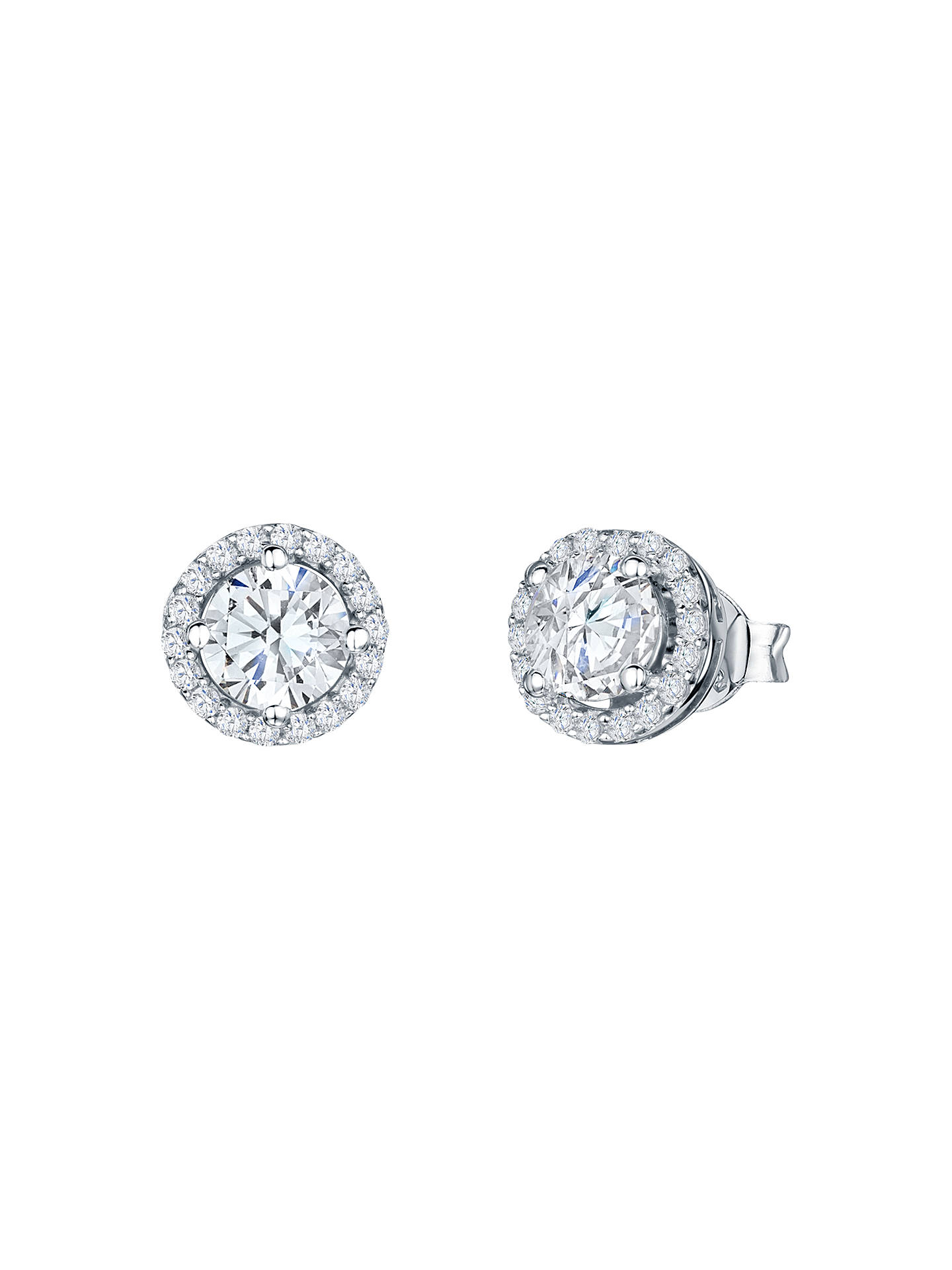 7207c4a8d Buy Jools by Jenny Brown Round Pavé Surround Stud Earrings Online at  johnlewis.com