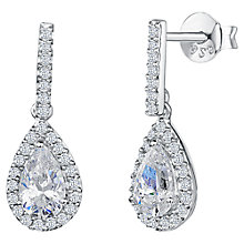 Buy Jools by Jenny Brown Pavé Set Bar and Tear Drop Earrings Online at johnlewis.com