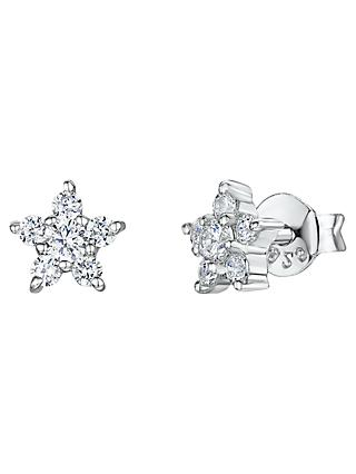 Jools by Jenny Brown Small Cubic Zirconia Stud Earrings