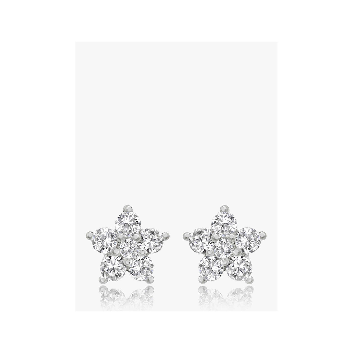 real flower wild products earrings with stud big smile img