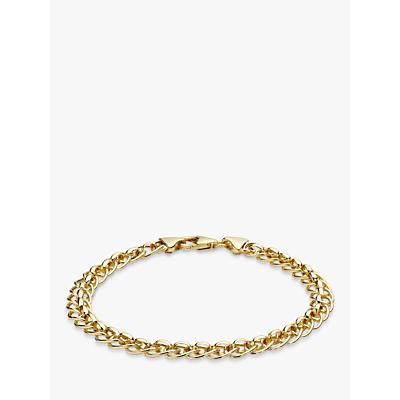 IBB 9ct Yellow Gold Rollerball Bracelet, Gold
