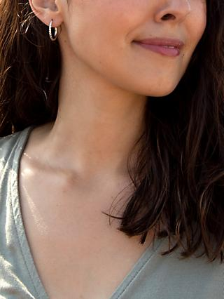 Women S Hoop Earrings Jewellery John Lewis Partners