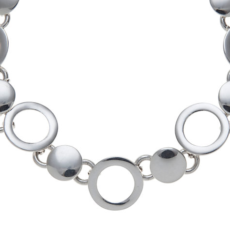 Buy Andea Sterling Silver Discs And Circles Bracelet Online at johnlewis.com