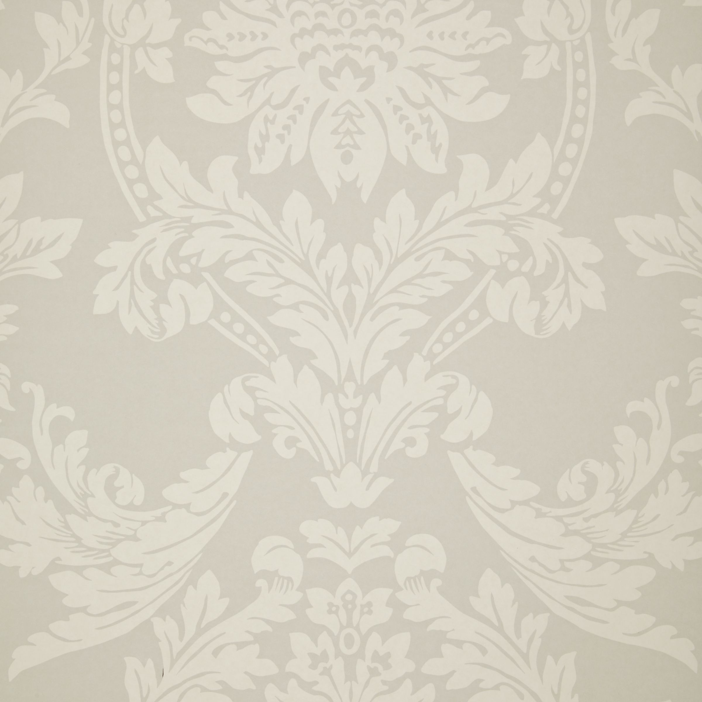 Buy John Lewis Ornamental Damask Wallpaper John Lewis