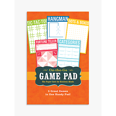 Knock Knock On The Go Game Pad, Multi