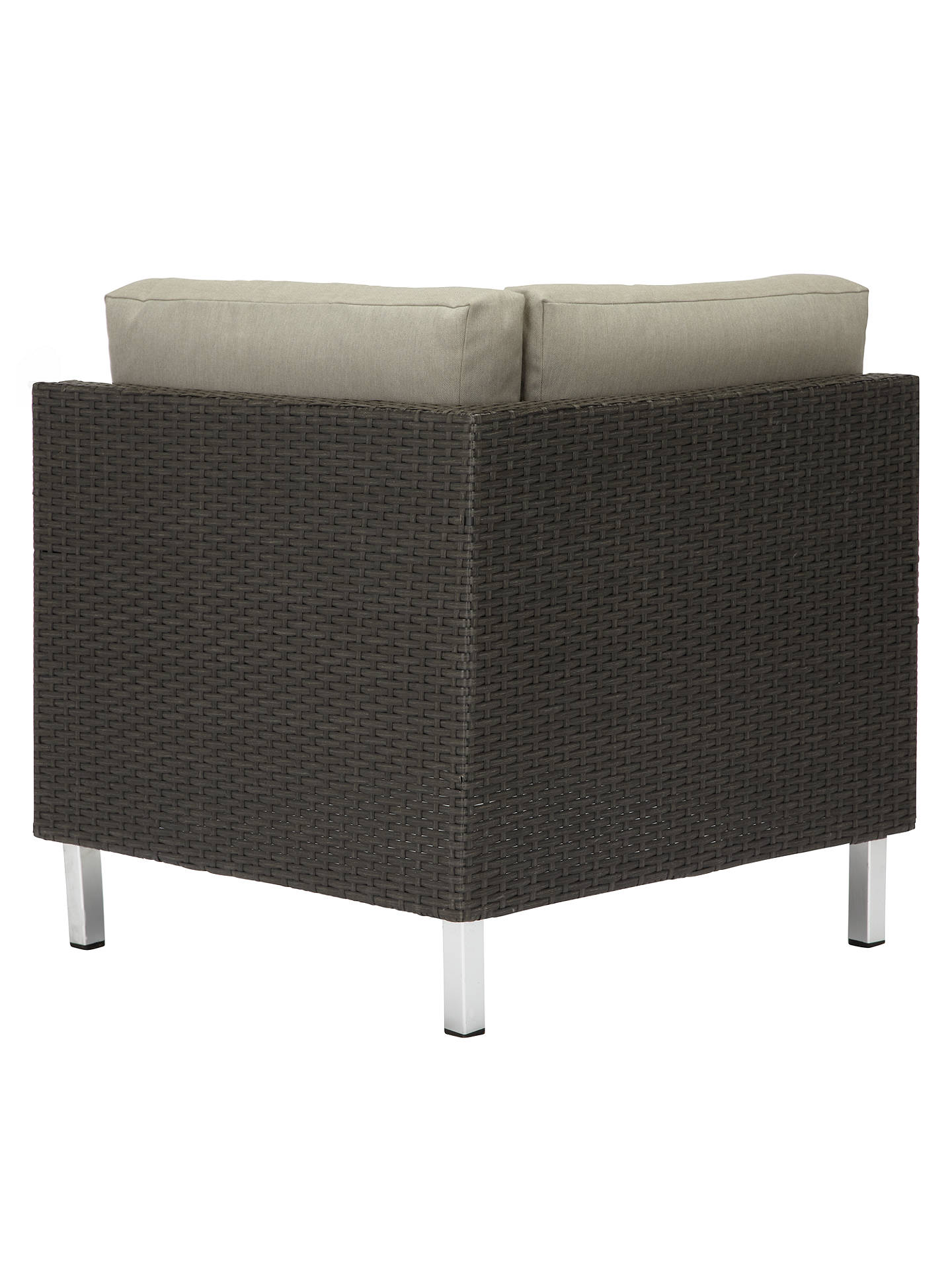 Buy John Lewis & Partners Madrid Modular Corner Unit, Brown Online at johnlewis.com