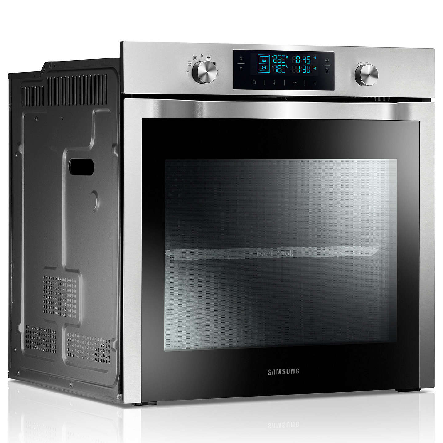 Buysamsung Nv70F7786Hs Dual Cook Single Electric Oven, Stainless Steel Online