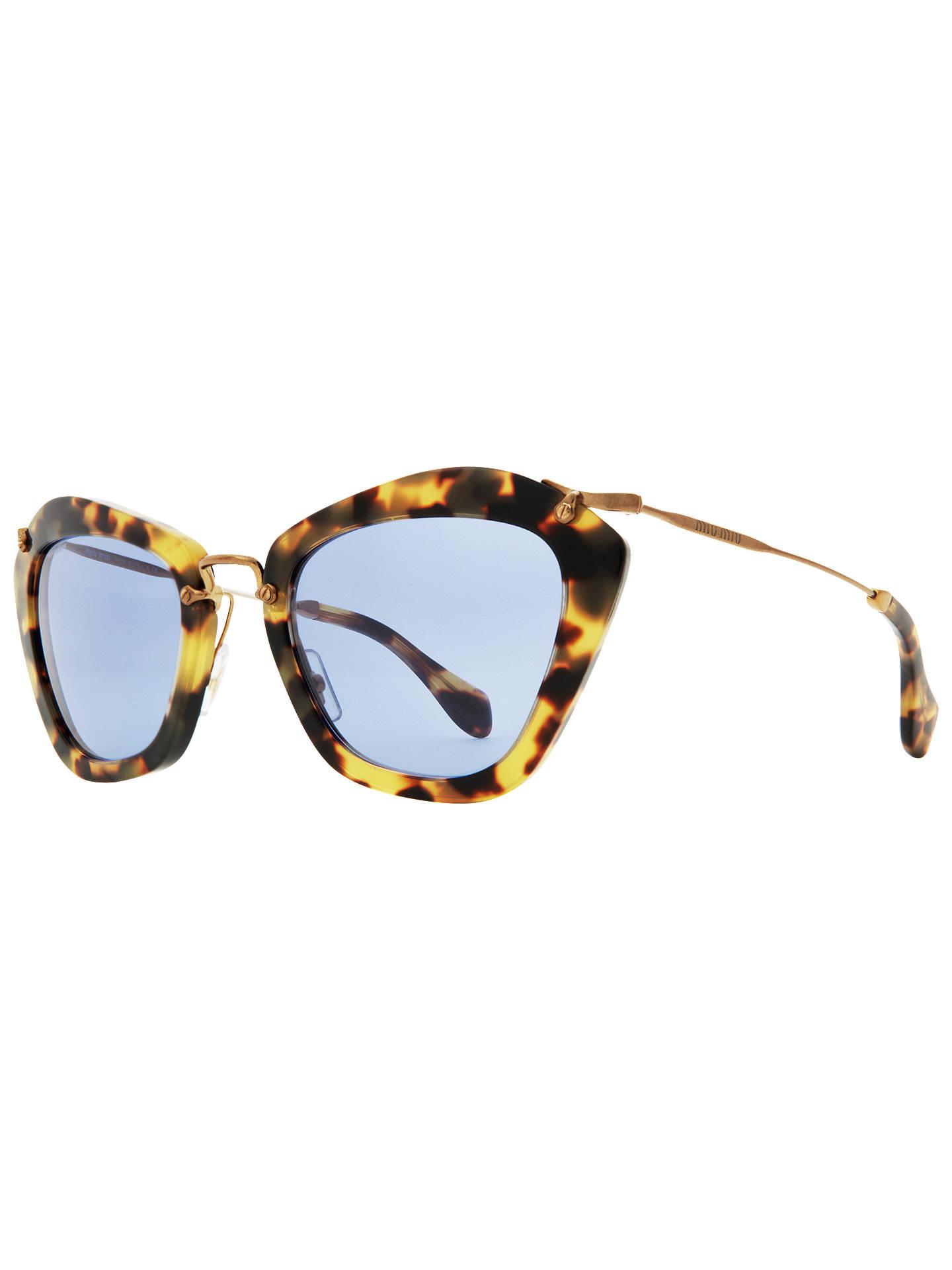 ca0da1240d0 BuyMiu Miu MU10NS 7S00A2 Octagonal Acetate Framed Sunglasses