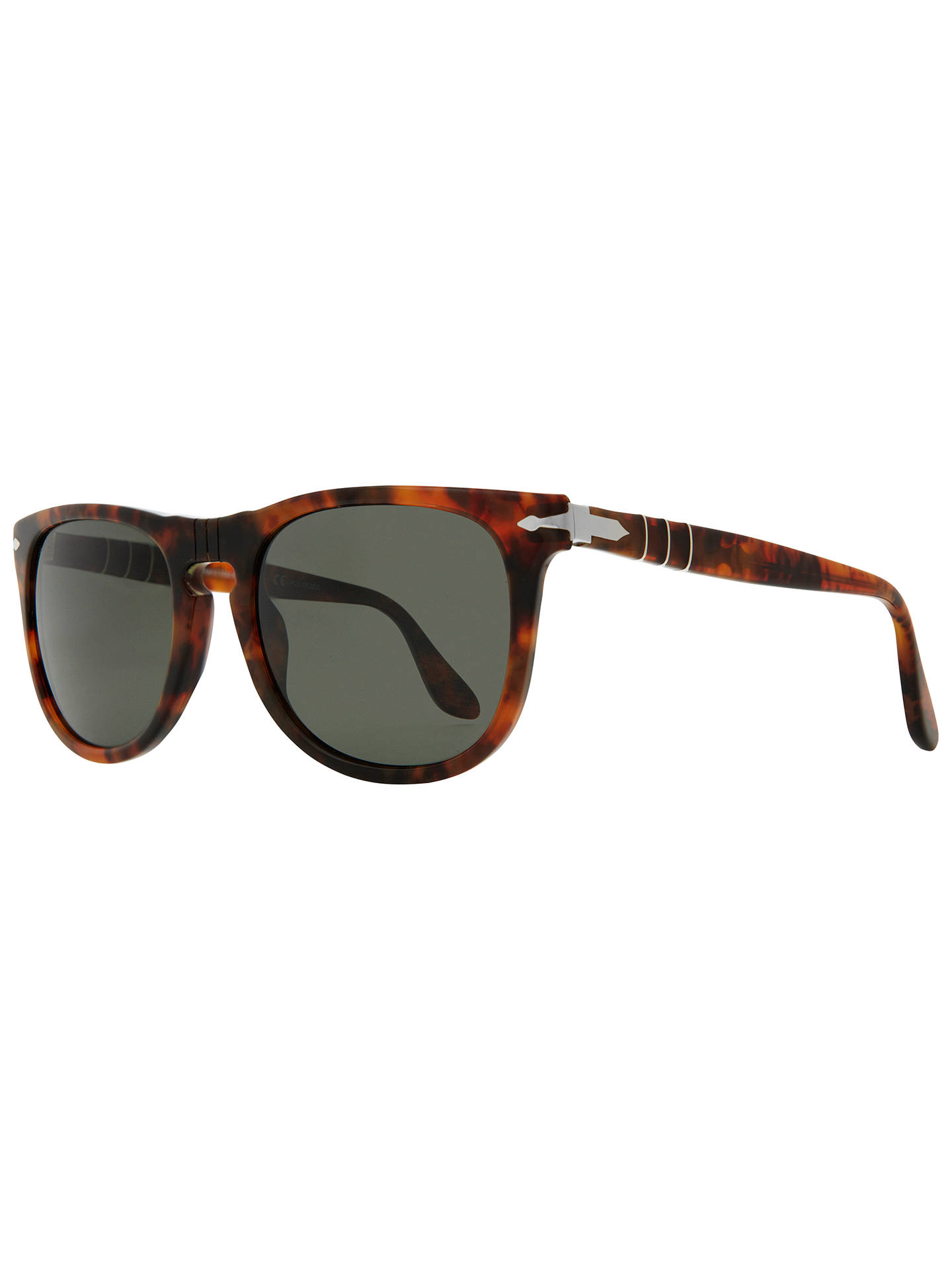 78e336536e3e Buy Persol PO3055S 108/58 Rectangular Polarised Sunglasses, Tortoise Online  at johnlewis.com ...
