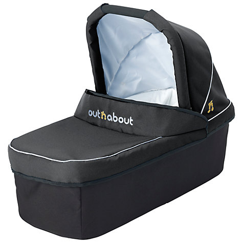 Buy Out 'N' About Nipper Single Carrycot, Black Online at johnlewis.com