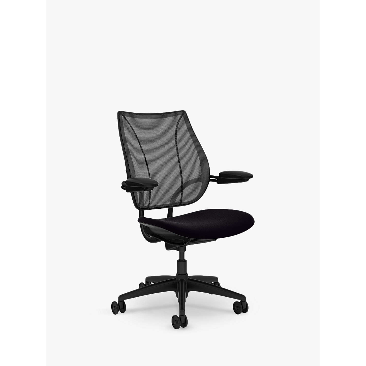office chair material. BuyHumanscale Liberty Office Chair, Black Online At Johnlewis.com Chair Material