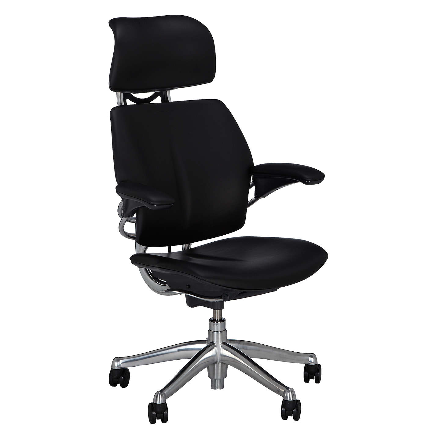 humanscale freedom office chair with headrest at john lewis