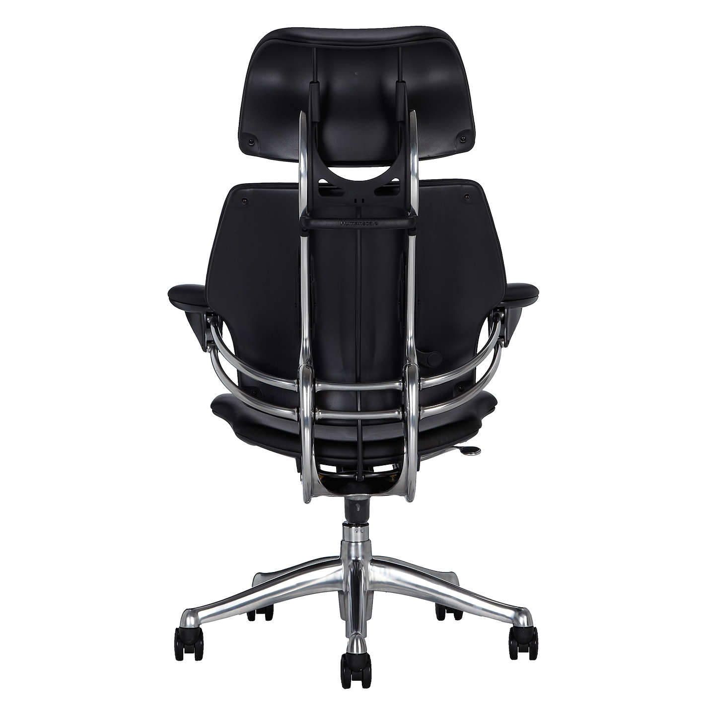 BuyHumanscale Freedom Office Chair with Headrest, Black Online at johnlewis.com