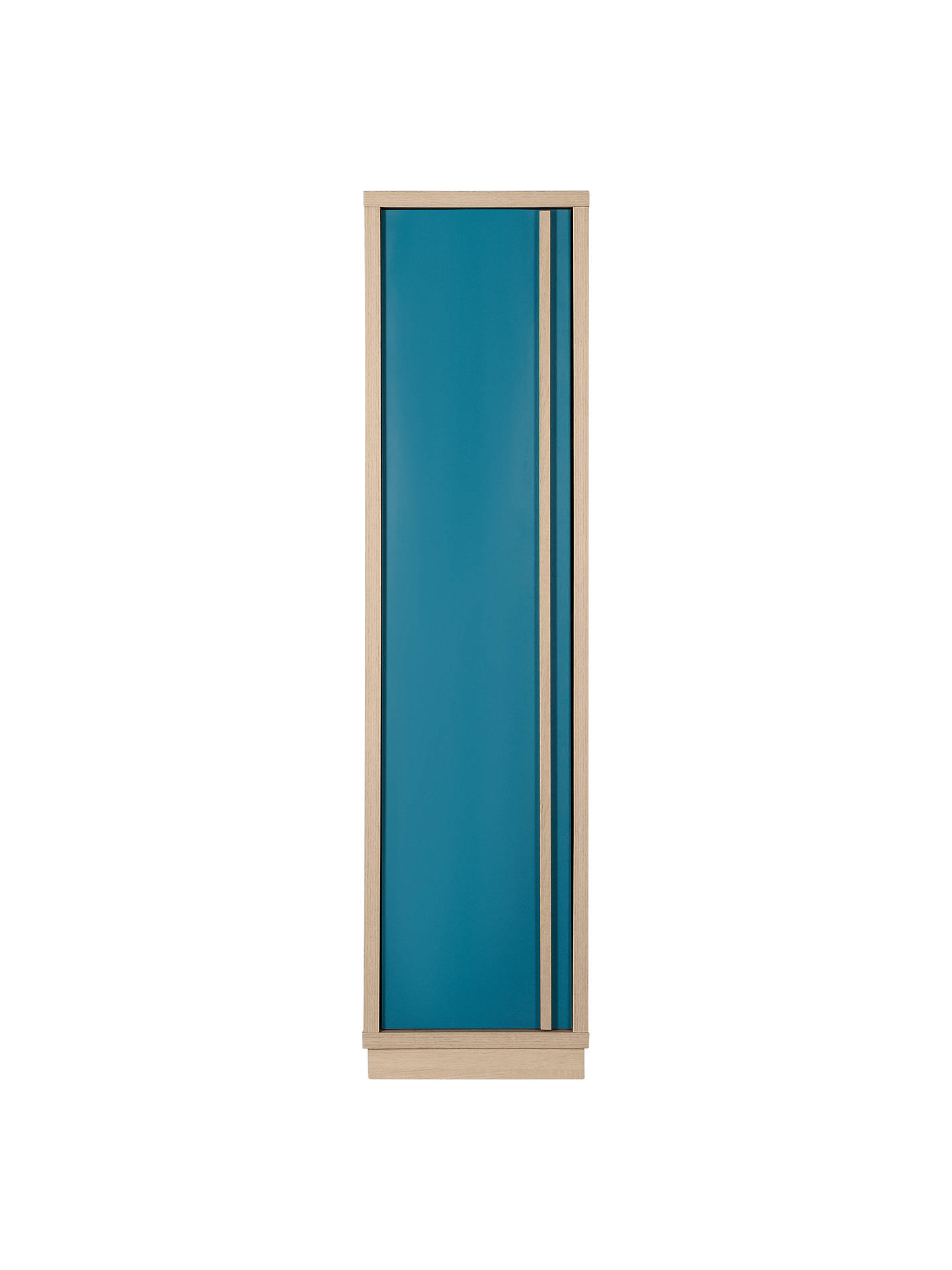 Buy House by John Lewis Porto Hall Cabinet, Oak/Teal Online at johnlewis.com