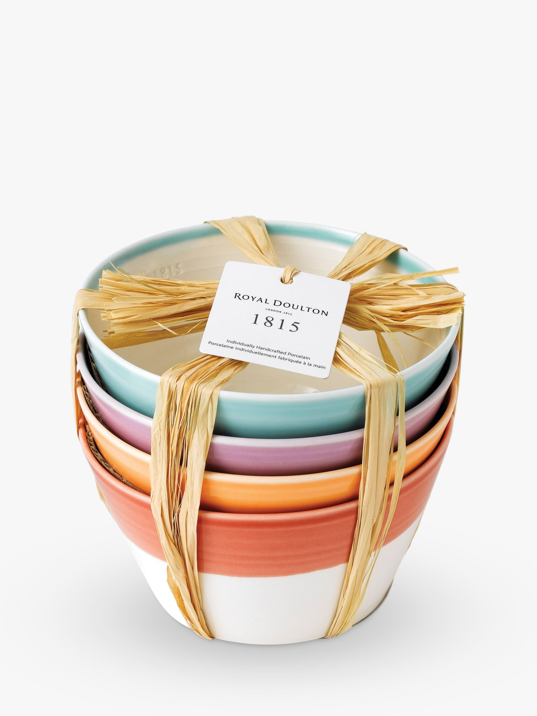 Royal Doulton Royal Doulton 1815 Cereal Bowl, Multi, Set Of 4