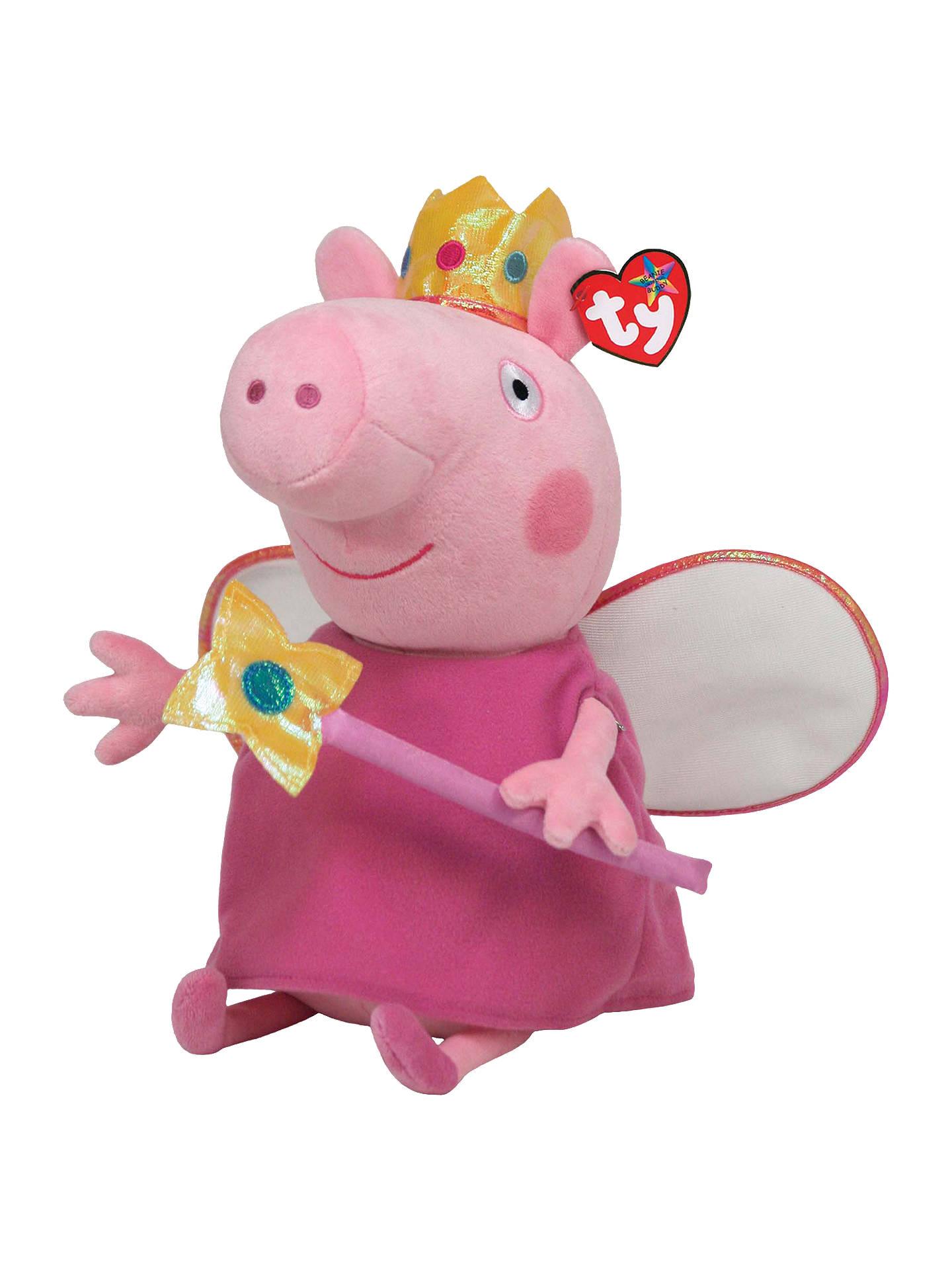 BuyTy Peppa Pig Princess Beanie Baby 18f2e9461c08