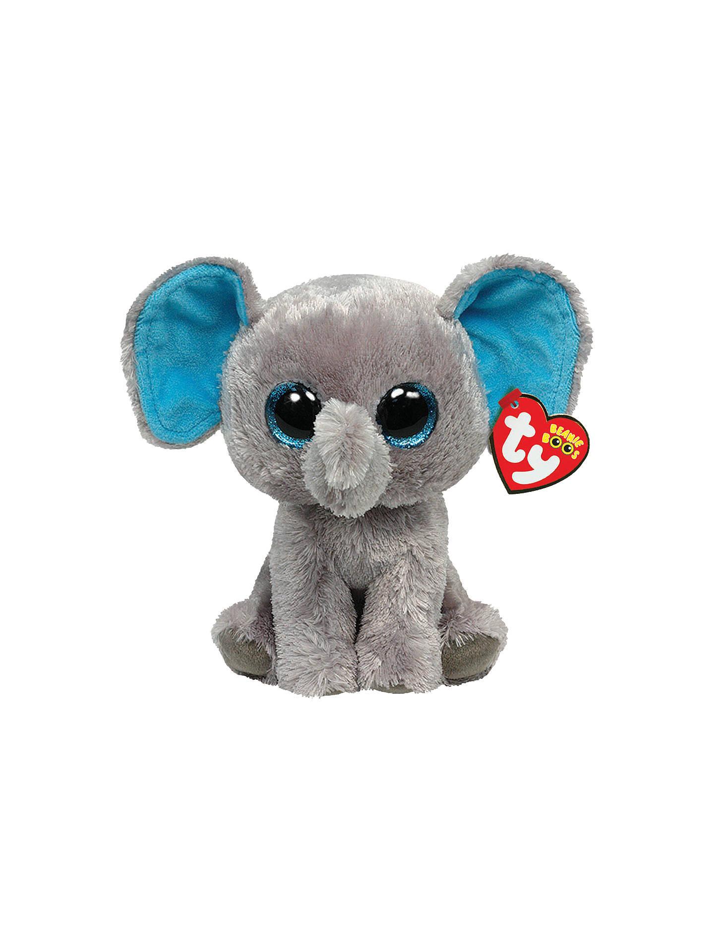 4825fb9bc64 BuyTy Beanie Boo Peanut Elephant Soft Toy