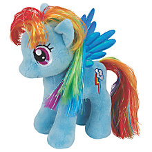 Buy Ty My Little Pony Rainbow Beanie Baby Online at johnlewis.com