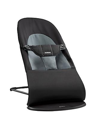 BabyBjörn Bouncer Balance Soft, Black/Grey