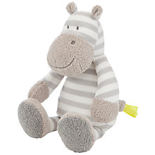Buy John Lewis Hippo Toy Rattle, Small Online at johnlewis.com