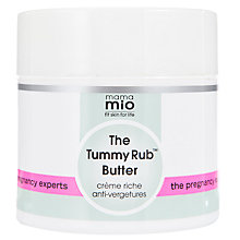 Buy Mama Mio Tummy Rub Butter, 120ml Online at johnlewis.com