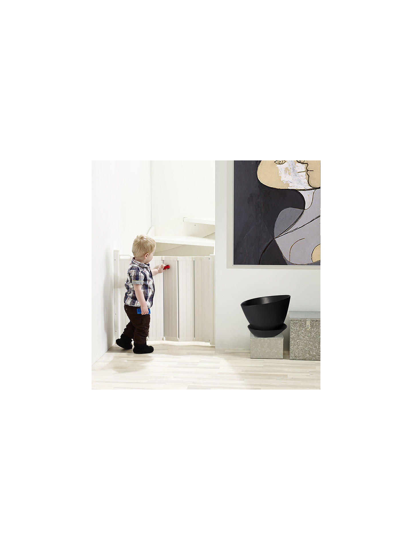 Buy BabyDan Guard Me Fold Baby Gate Online at johnlewis.com