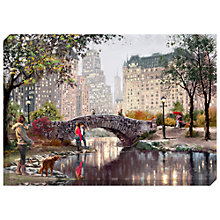 Buy Richard Macneil - Gapstow At Evening Print on Canvas, 70 x 100cm Online at johnlewis.com