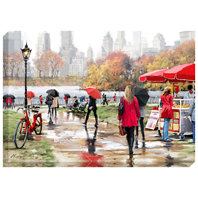 Richard Macneil – In Central Park Print on Canvas, 70 x 100cm