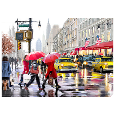 Richard Macneil – New York Shopper Print on Canvas, 70 x 100cm