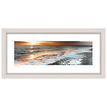 Buy Mike Shepherd - Seascape Framed Print, 52 x 107cm Online at johnlewis.com