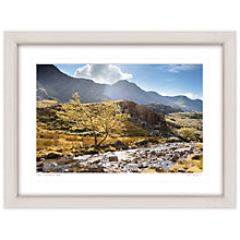 Buy Mike Shepherd - The Llanberis Path Framed Print, 67 x 87cm Online at johnlewis.com