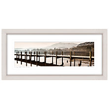 Buy Mike Shepherd - Lake Coniston Framed Print, 52 x 107cm Online at johnlewis.com