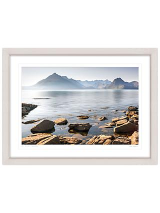 Mike Shepherd - The Cuillin Mountains Framed Print, 81 x 107cm