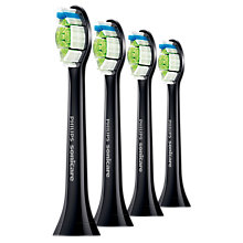 Buy Philips Sonicare HX6064/33 DiamondClean Standard Sonic Toothbrush Heads, Black Online at johnlewis.com
